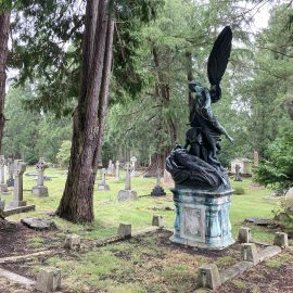 Beautiful Grade 1 listed Monumental cemetery in Woking